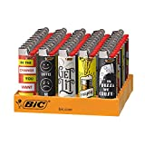BIC Special Edition Cutting Edge Series Lighters, 50-Count Tray