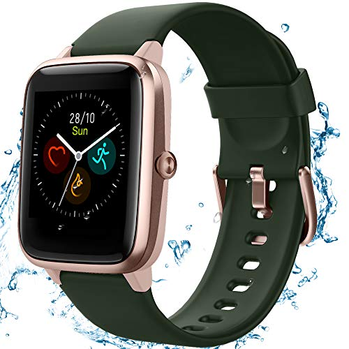 TEMINICE High-End Fitness Trackers,Health Sports Smart Watch with Heart...