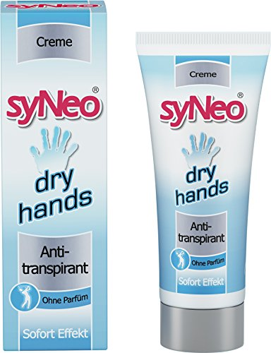 syNeo Dry Hands Antitranspirant Deo-Creme, 1er Pack (1x 40ml)