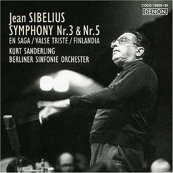 シベリウス:交響曲第3番&第5番