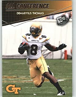 Demaryius Thomas - Georgia Tech (All Conference ACC)(Rookie Year Card) 2010 Press Pass NFL Draft Football