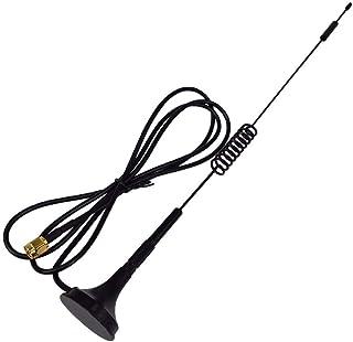 NO LOGO LMY-TIANXIAN, 1pc 4G Antena 7-8 DBI LTE Doble Tornillo aéreo 698-960 MHz con Base magnética SMA Enchufe Macho RG17...