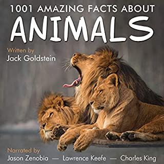 1001 Amazing Facts About Animals audiobook cover art
