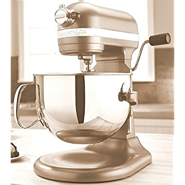KitchenAid Professional 600 Series KP26M1XER Bowl-Lift Stand Mixer, 6 Quart, Dark Green William Sonoma (Champagne)