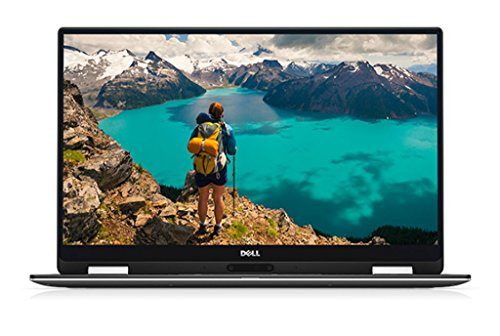 Dell XPS 13 9365 33,8 cm (13,3 Zoll FHD) Convertible Laptop (Intel Core i5-7Y54, 8GB RAM, 256GB SSD, Intel HD 615, Touchscreen, Windows 10 Home) silber