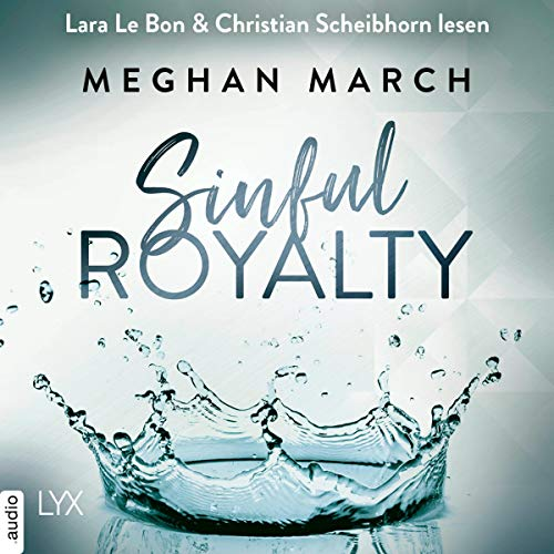 Sinful Royalty (German edition) audiobook cover art