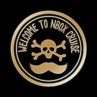 NBOX Nボックス CRUISE カッティング ステッカー ゴールド 金