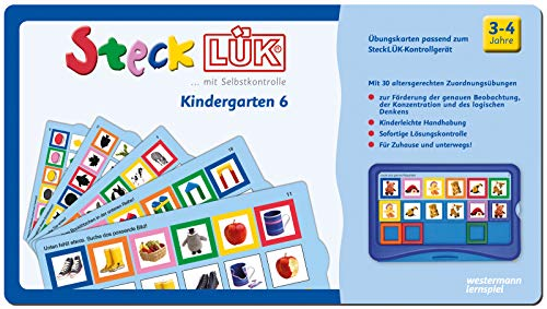 SteckLÜK: Kindergarten 6: Alter 3 - 4 (blau): Kindergarten / Kindergarten 6: Alter 3 - 4 (blau)