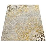Paco Home In- & Outdoor Teppich Modern Shabby Chic Stil Terrassen Teppich Gelb, Grösse:60x100 cm - 7