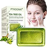 Handgemachte Seife,Teebaumöl Seife,Gesichtsseife,Akne Seife,Es kann Haut und Gesicht gründlich...