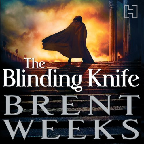 The Blinding Knife     Lightbringer, Book Two              By:                                                                                                                                 Brent Weeks                               Narrated by:                                                                                                                                 Simon Vance                      Length: 24 hrs and 9 mins     313 ratings     Overall 4.8