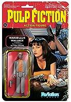 リ・アクション パルプ・フィクション シリーズ2 マーセルス・ウォレス 3.75インチ プラスチック製 塗装済みアクションフィギュア