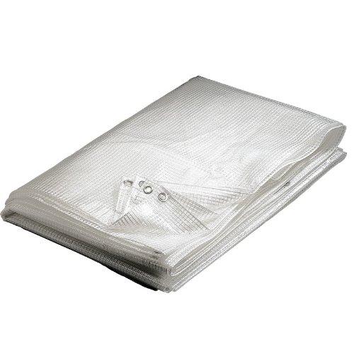 WerkaPro 02651 - Bâche transparente - 2 x 3 m - 160 g/m2 - En polyéthylène - Traitée contre les UV