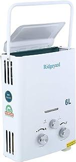 comprar comparacion Calentador de gas propano instantáneo de Ridgeyard 6L LPG. Depósito de agua caliente