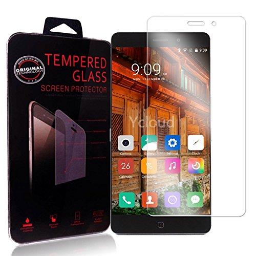 Ycloud Panzerglas Folie Schutzfolie Bildschirmschutzfolie für Elephone P9000 screen protector mit Festigkeitgrad 9H, 0,26mm Ultra-Dünn, Abger&ete Kanten