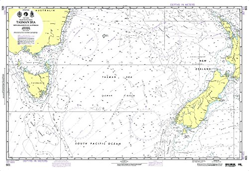 Check Out This Paradise Cay Publications NGA Chart 601: Tasman Sea [New Zealand to Se Australia] (Wa...