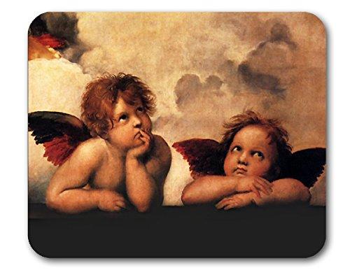 Renaissance Art Mouse Pads (Raphael - Little Angels)