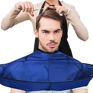 Hair Cutting Cloak, Foldable Hair Cutting Cape Umbrella for Salon Barber Home Stylists, DIY Hairdressing Cloak Waterproof ...