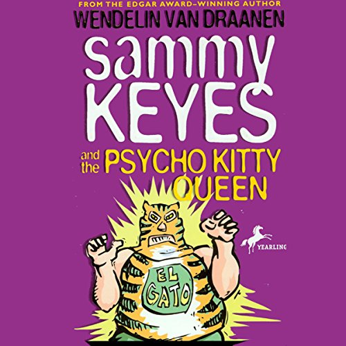Sammy Keyes and the Psycho Kitty Queen audiobook cover art