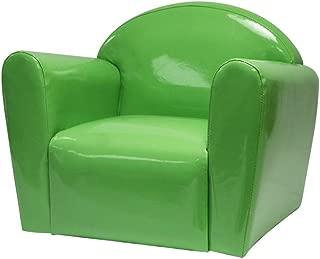 LIUYONGJUN Children s Sofa Seat Kid s Armchair Waterproof Nonslip Rose Red  Purple  Yellow  Green  Color Green
