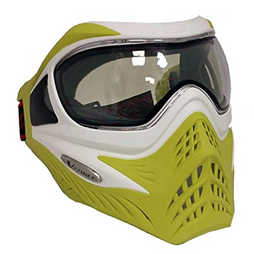 G.I. Sportz Paintball Maske VForce Grill Thermal Limited, White On Lime, 63834