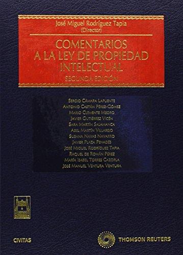 Comentarios a la Ley de Propiedad Intelectual (Estudios y Comentarios de Legislación)