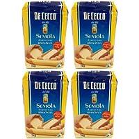 De Cecco - sémola de trigo duro - Semola di grano duro rimacinata (4 x 1 kg)