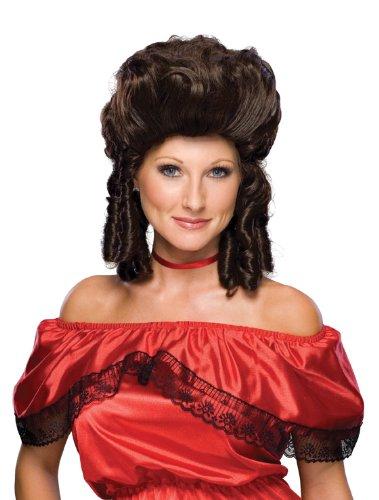 Rubie'slonial Lady Wig, Brown, One Size