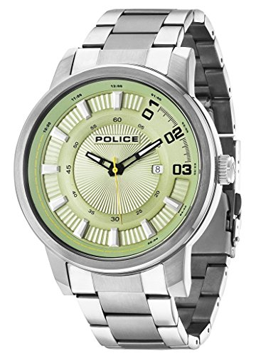 Police Reloj con Movimiento Cuarzo japonés Man Sunset 50 mm