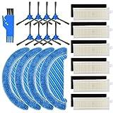 Kit de repuestos Conga 1090, filtro y trapeador para accesorios de aspiradora Robot Conga 1090, mopa y Filtro