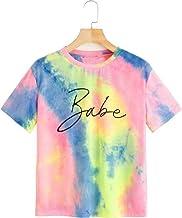 JUNEBERRY Tie Dye T-Shirt for Women/Girls