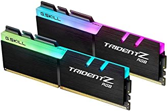 G.Skill 16GB DDR4 TridentZ RGB 3600Mhz PC4-28800 CL18 1.35V Dual Channel Kit (2x8GB) for Intel Z270
