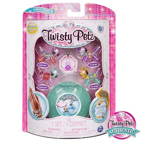 Twisty Petz – Babies 4-Pack Kitties and Unicorns Collectible Bracelet Set for Kids