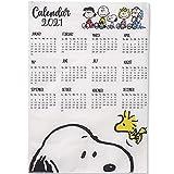 スヌーピー カレンダー 2021 壁掛け peanuts 最新カレンダー カッコイイ かわいい 人格カレンダー スケジュール 萌えグッズ 新年プレゼント AMZ-7021-JP (35×50cm,C)