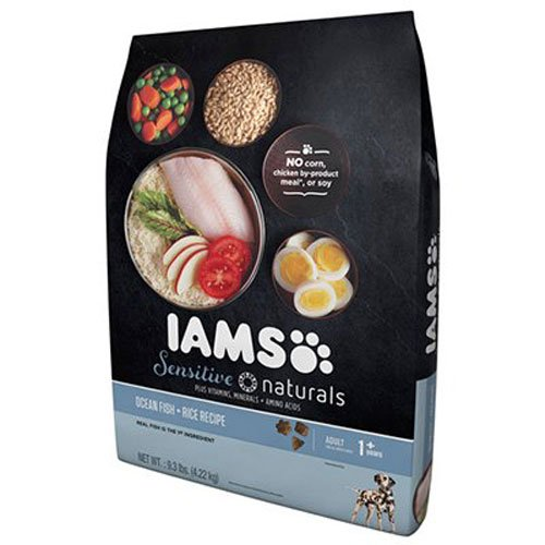 Iams Sensitive Naturals Adult Ocean Fish And Rice...