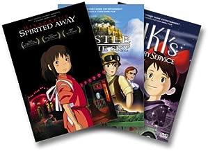 Miyazaki 3 Pack: (Spirited Away / Castle in the Sky / Kiki's Delivery Service)