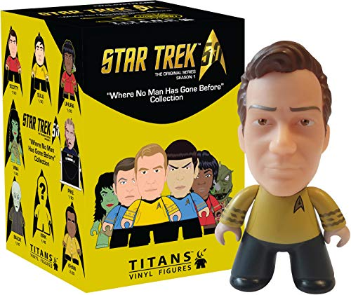 Star Trek Titan TOS Blind Box Vinyl Figure, Single Random