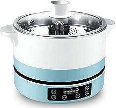 DYXYH Mini Petit Intelligent multifonctionnel Cuisinière électrique, Split Hot Pot, Réglage 5 positions, Lift One-bouton (...