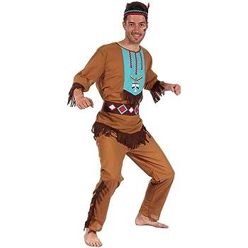 Atosa- Disfraz hombre indio, M-L (10223): Amazon.es: Juguetes y juegos