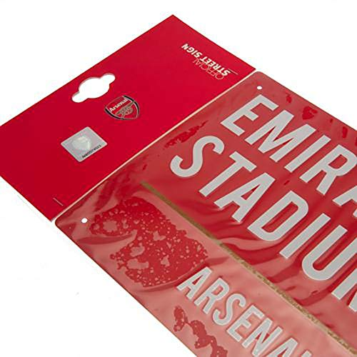 Official Licensed Arsenal F.C - Metal Street Sign (RD)