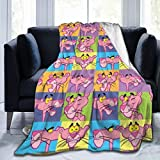 Lifank Ultra-Soft Micro Pink Panther Cradle Gentle Woollen Blanket Old Man and Woman Blanket 50 X 40, 60 X 50, 80 X 60 Inch