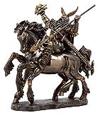 Ebros Gift Norse Viking God Battle Cry Alfather Odin Riding On Sleipnir to Hel Figurine 9' L Gods of Mythology Asgard Father of Thor Ragnarok Decor Statue