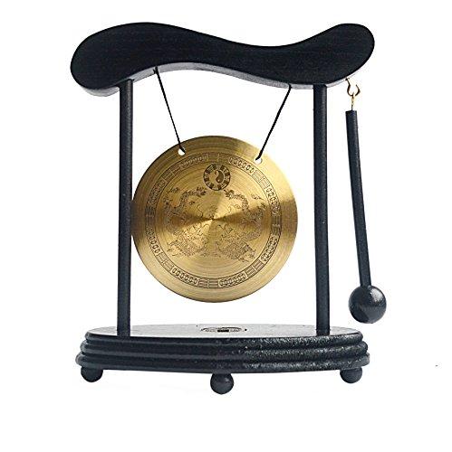 Zen Art Messing Feng Shui Desktop Gong W Gratis Mxsabrina Rode String Armband W1640