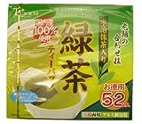 つぼ市 宇治抹茶入り緑茶 ティーバッグ 52袋