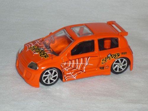 Mondo Motors Renault Clio Orange Tuning 1/64 1/60 1/55 Modellauto Modell Auto