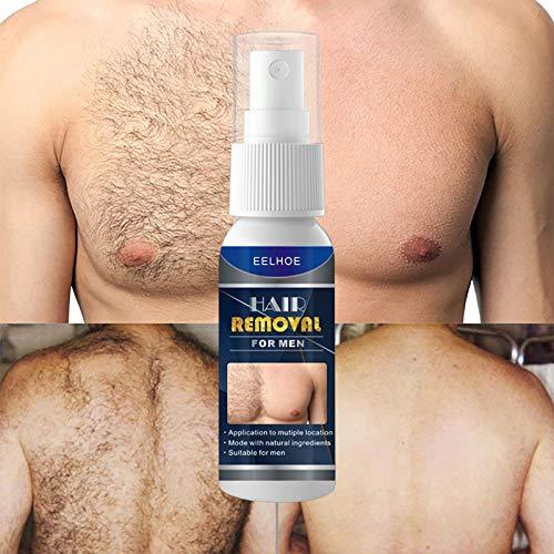 Natürlicher permanenter Sprühhemmer zur Haarentfernung stoppt das Wachstum 2 Flaschen Haarentfernungsspray (männlich + weiblich) Hair No More Inhibitor Spray,Haar inhibitor...