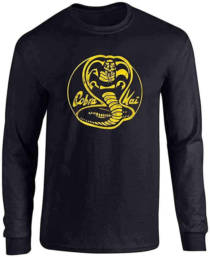 Cobra Kai Karate Kid Merchandise Retro No Mercy Graphic Tee Tshirt For Men