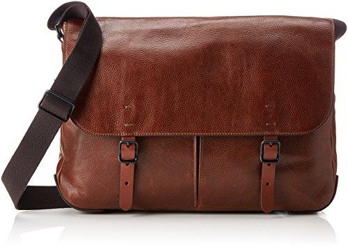 Fossil Herren Herrentasche– Defender Messenger Business Tasche, Braun (Cognac), 8.89x30.48x40.64 cm