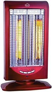 DCG Eltronic SA9822 T 1000W Rojo - Calefactor (Rojo, Botones, 1000 W, 350 mm, 240 mm, 610 mm)
