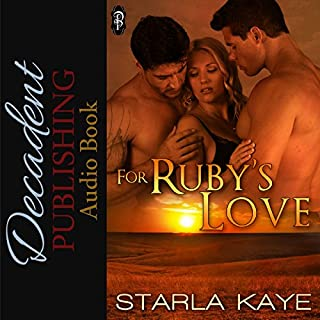 For Ruby's Love audiobook cover art